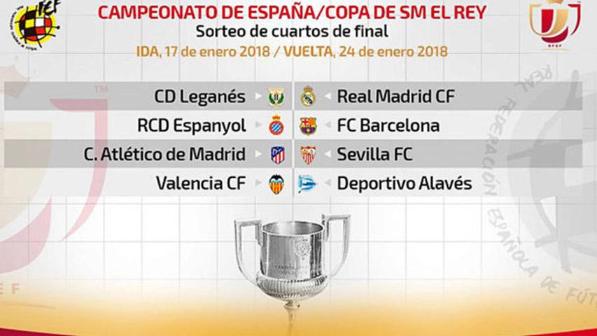 Copa del Rey ya tiene sus enfrentamientos para los cuartos ...