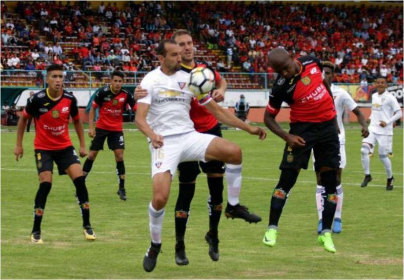Deportivo Cuenca Vencio A Liga De Quito