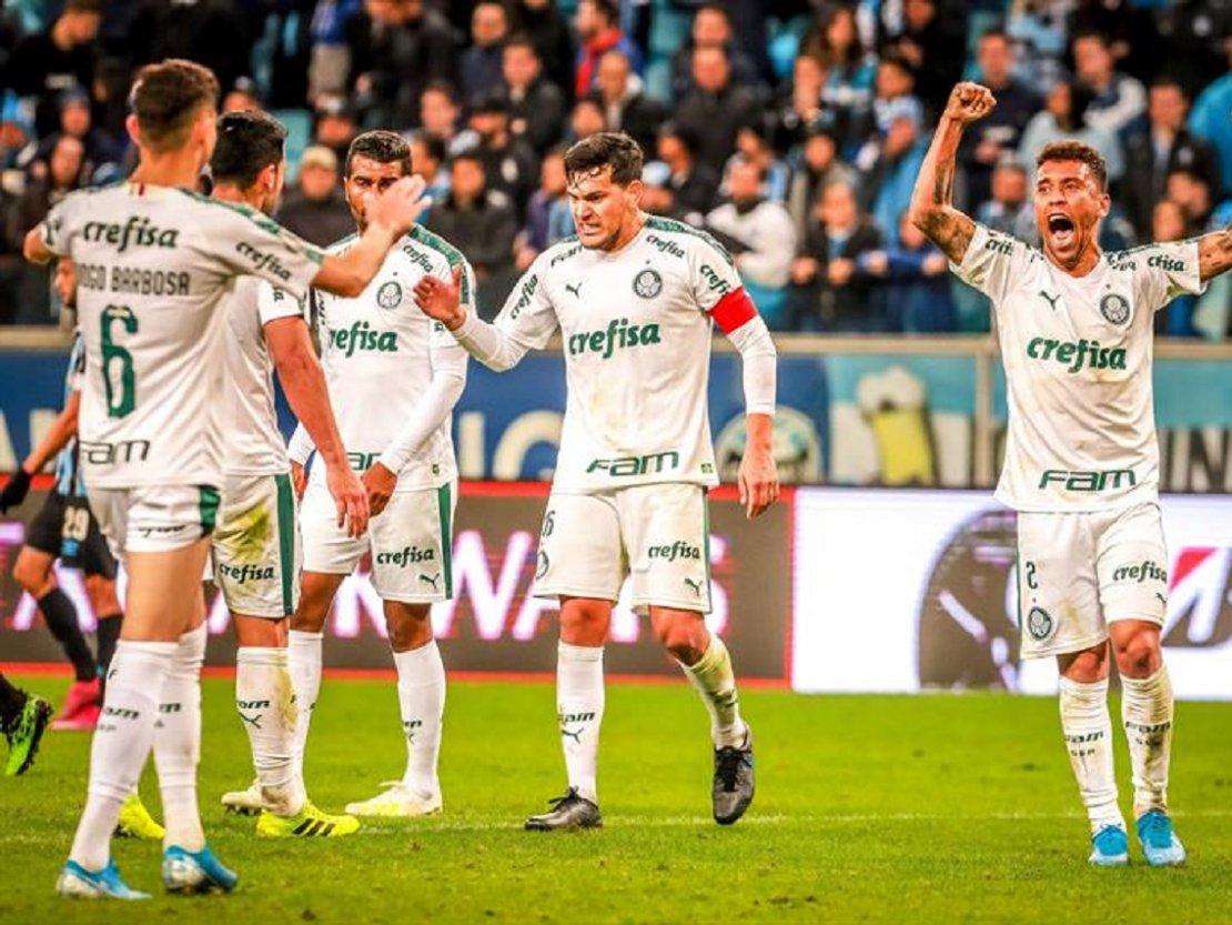 Palmeiras vence a Gremio 0-1