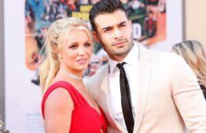 Britney Spears y Sam Asghari,
